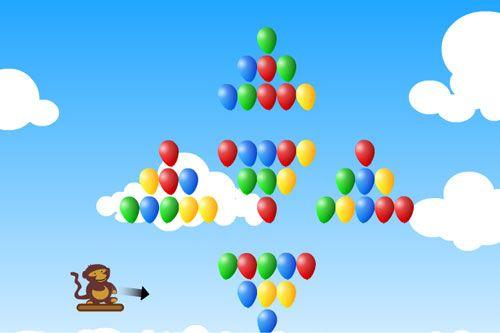 Monkey shooting balloon balloon games play free online for Free balloon games
