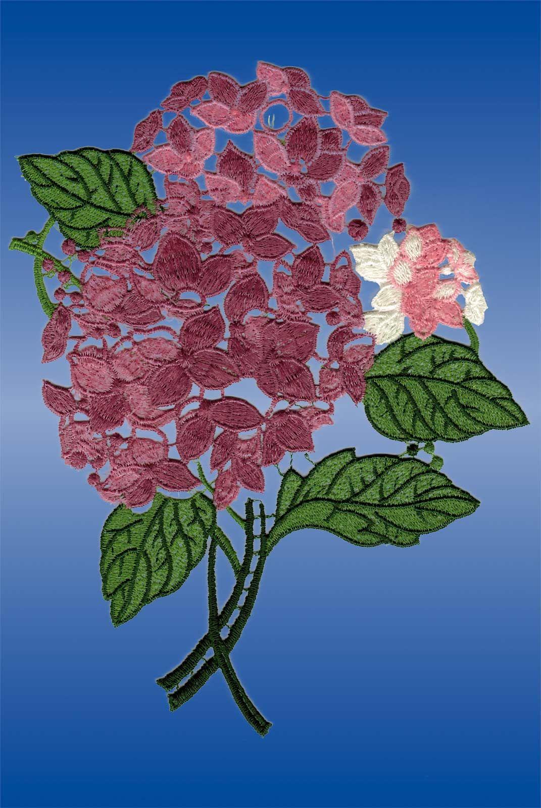Fensterbilder Plauener Spitze Blumen günstig kaufen