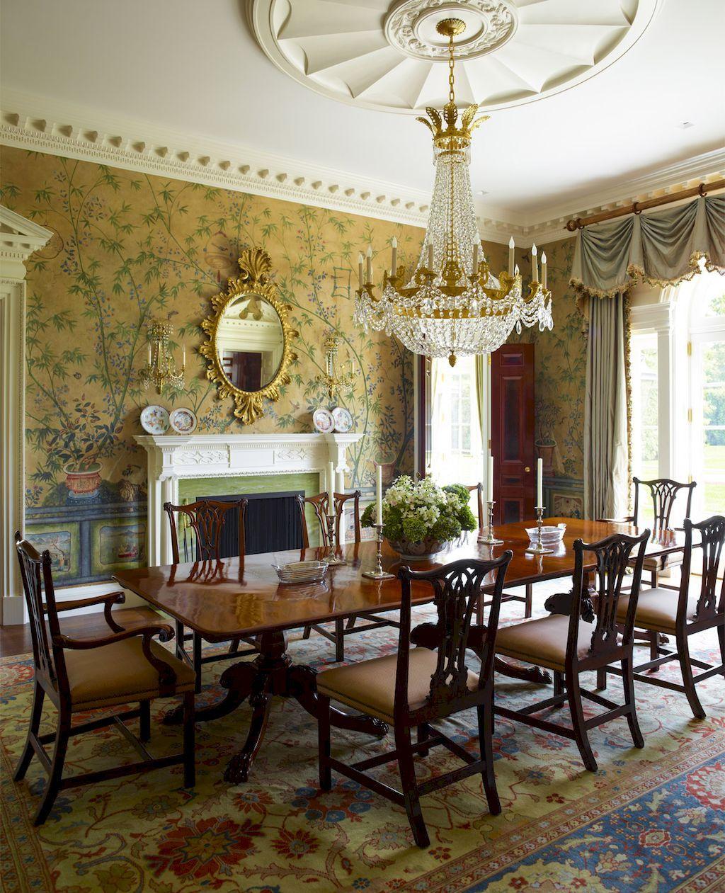 55 Vintage Victorian Dining Room Decor Ideas  Victorian Dining Fascinating Victorian Dining Room Decor Decorating Design