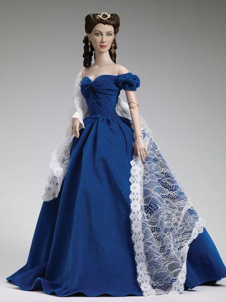 Коллекционная портретная кукла Скарлетт О Хара | раскраска ...