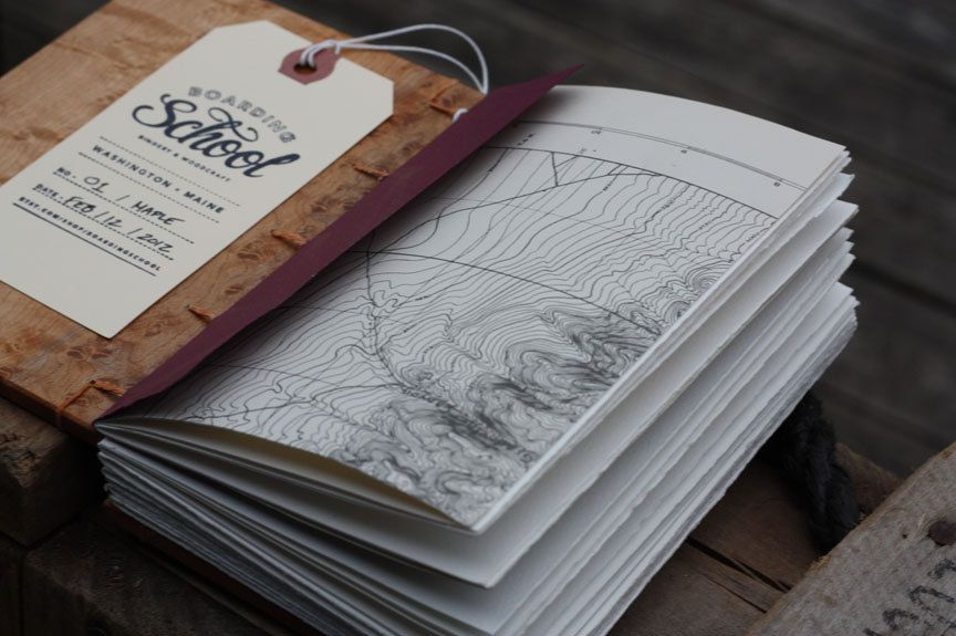 - Maple Journal made by Boarding School Bindery