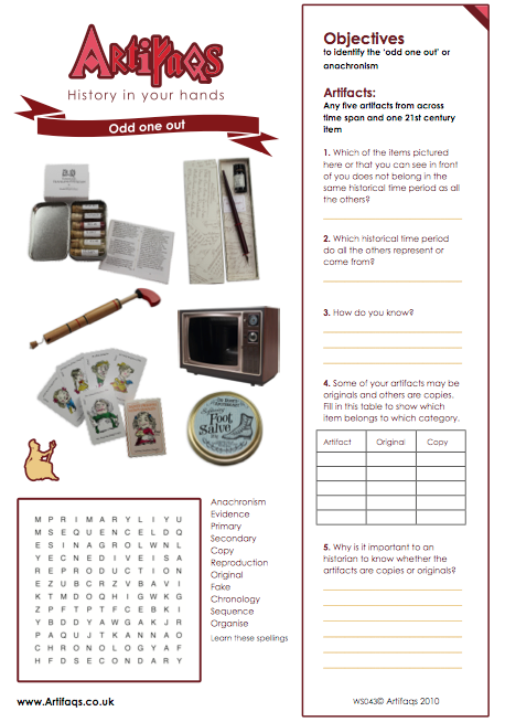 Free worksheet - Odd one out - Victorian Britain | Victorian ...