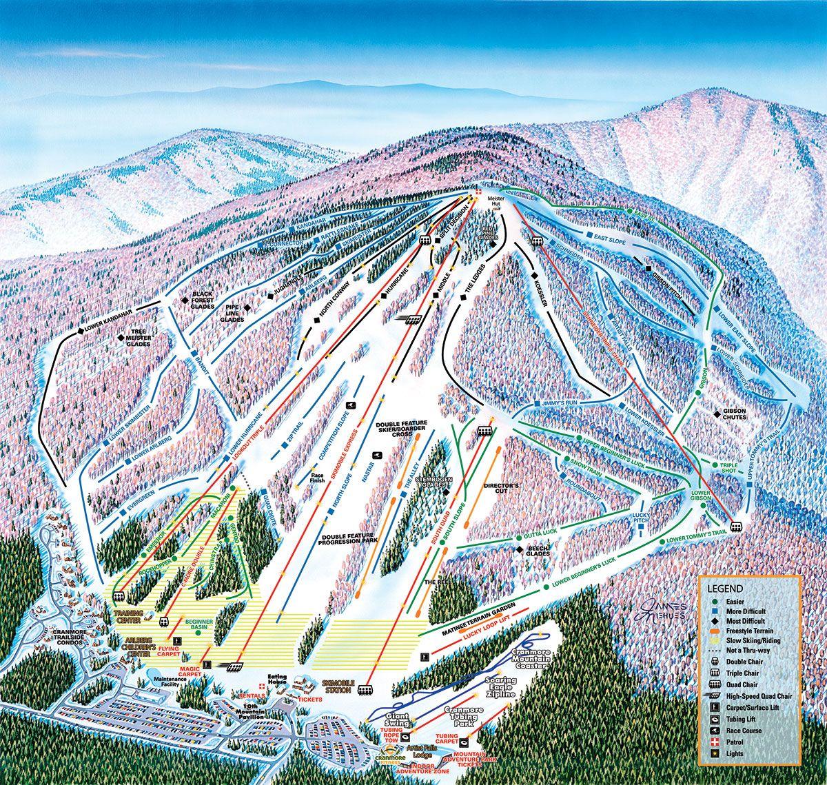 cranmore mountain, nh www.cranmore | skiing & snowboarding