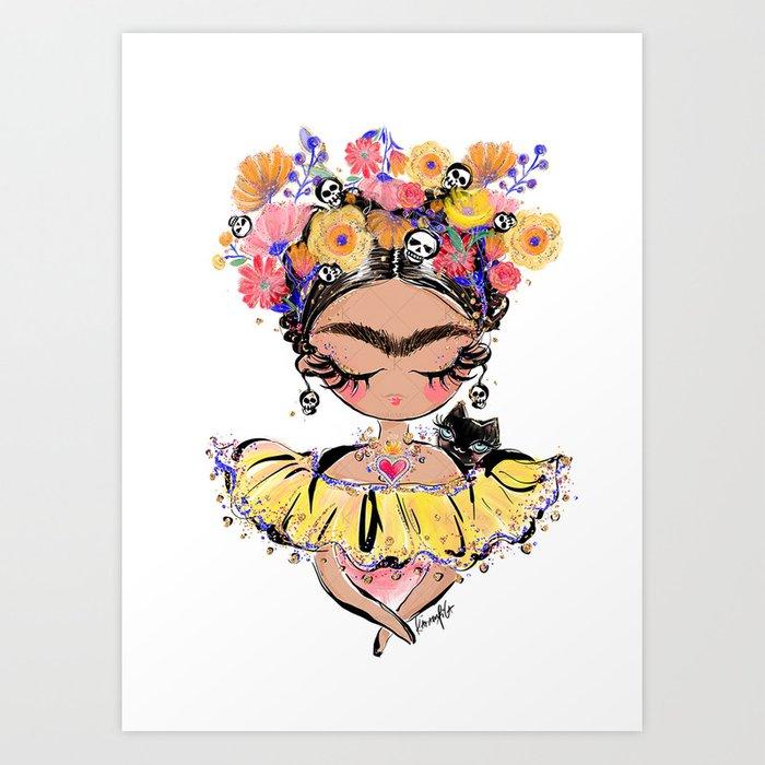 Frida Art Print Art Kahlo Paintings Frida Kahlo Paintings