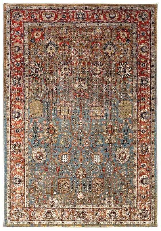 Festival area rug synthetic rugs machine made rugs traditional rugs transitional rugs homedecorators com