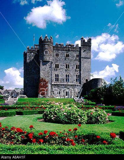 Kilkea Castle, County Kildare, Ireland Stock Photo, Picture and Royalty Free Image. Pic. 3758366