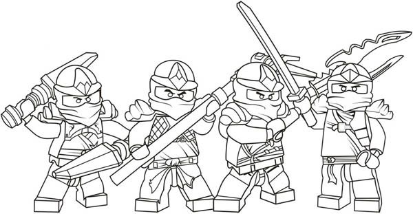 Ninja Lego Collection Coloring Page All About Grandchildren - copy coloring pages lego minifigures