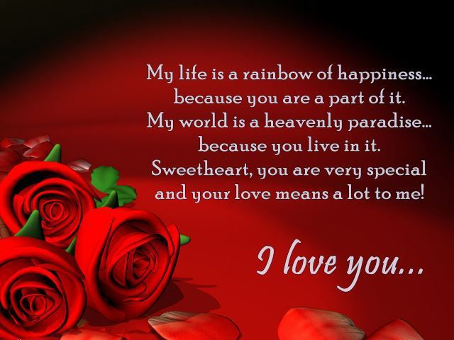 I Love You Quotes Sweetheart You Are Very Special Full Love