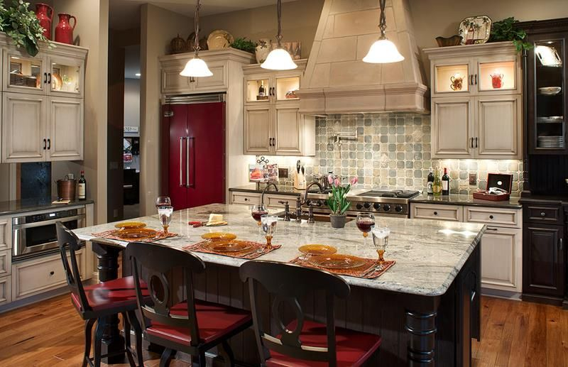 Wonderful 72 Luxurious Custom Kitchen Island Designs   Page 7 Of 14