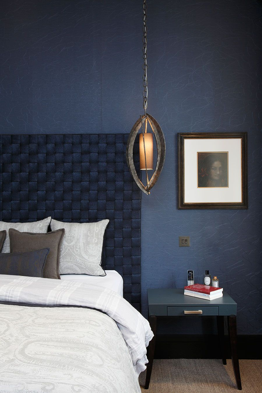 Bedside Manner Blue Bedroom Decor