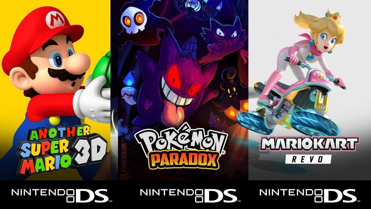 Top 5 Hack Roms Ds Nds Pokemon Mario Kart Neue Super Mario
