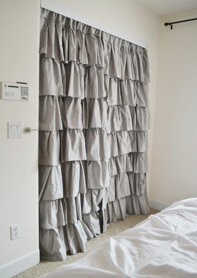 dressing avec rideau 25 propositions pratiques et jolies deco pinterest dressing faire. Black Bedroom Furniture Sets. Home Design Ideas