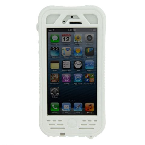 WaterDawg Wetsuit IPX8 Certified Waterproof Case for iPhone 5 - White ($39.99) IPX8 Certified waterproof to 5m, the Wetsuit case offers the highest level of waterproof protection and is the ideal protection for all your outdoor pursuits.