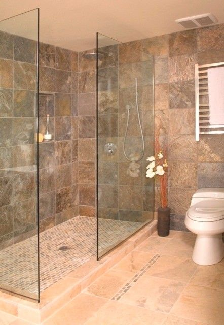 Outstanding Bathroom Showers Without Doors 92 About Remodel Home