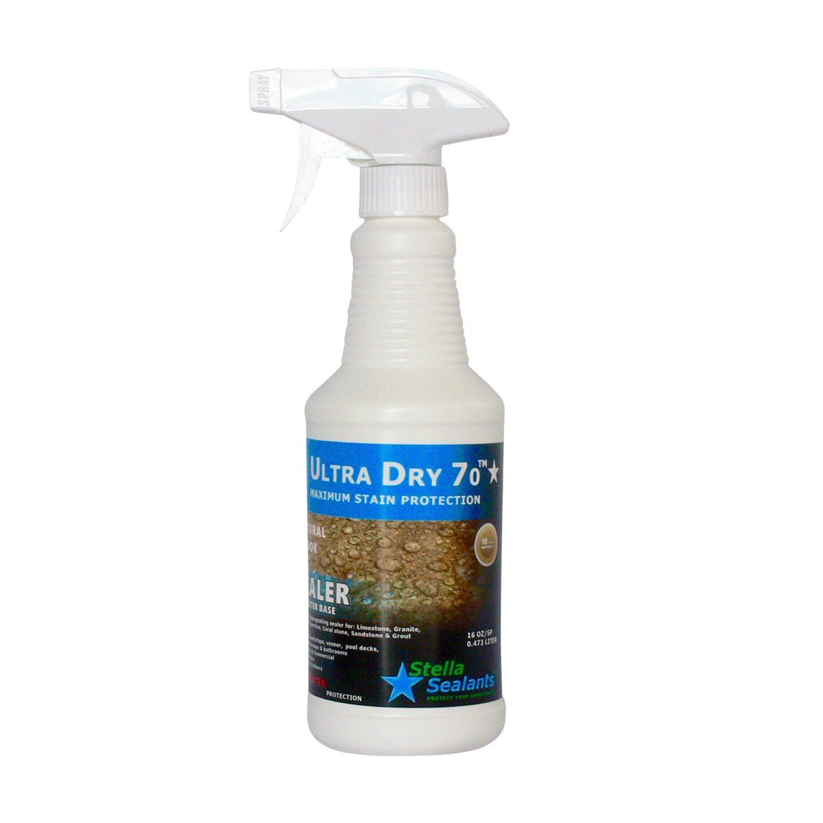Ultra Dry 70 Stone Sealer Tile and Grout Sealer Countertop