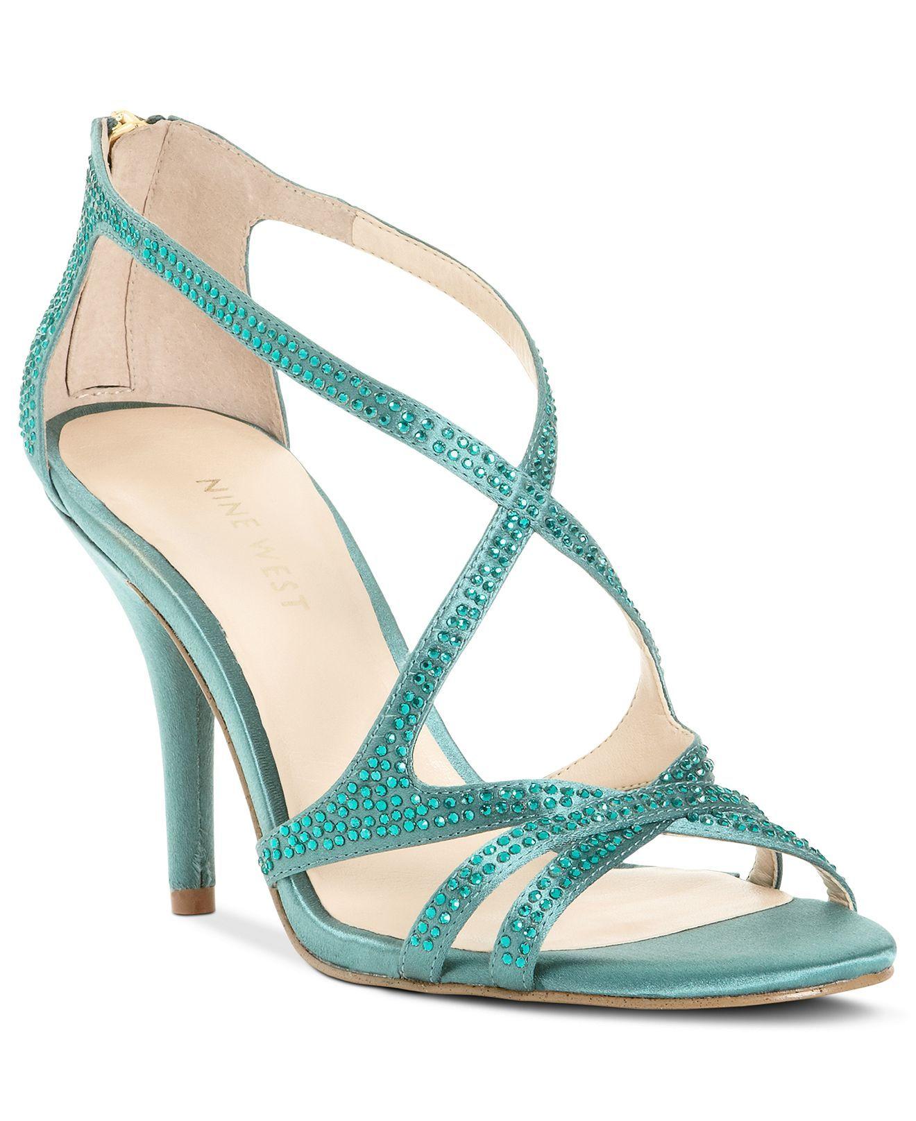 Nine West Shoes, Altemis Dress Sandals - Evening & Bridal - Shoes ...