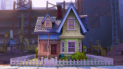 The Little House From The Movie Up Up Movie House House