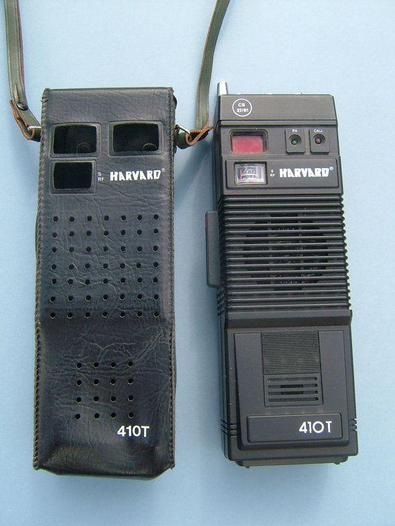 Vintage Harvard 410T Hand Held CB Radio in the Original