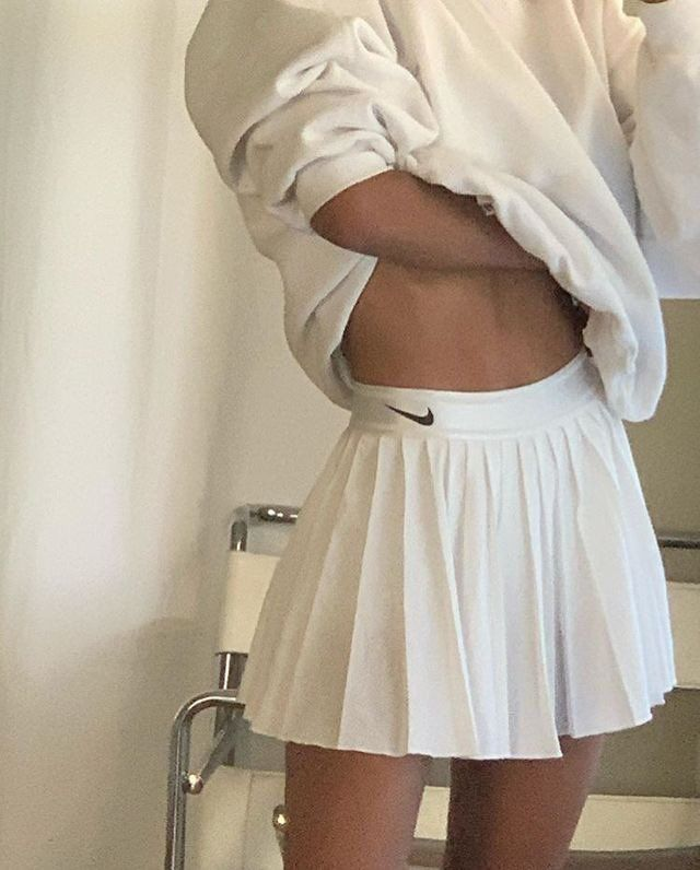 Babe On Twitter In 2020 Girls Tennis Skirt Fashion Aesthetic Clothes