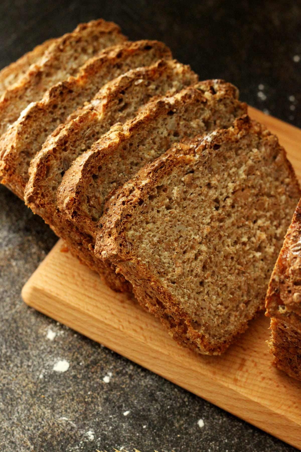 Healthy Wholemeal Bread Recipe Is Vegan Simple And Just Perfect For Beginner Bakers Learn How To Bake No Recipes Gluten Free Bread Machine Wheat Bread Recipe