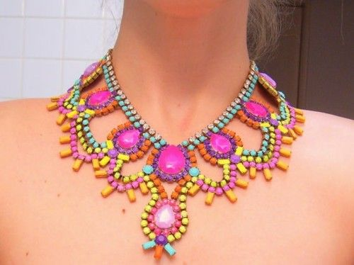 Necklace. Possibly Tom Binns? #jewelry