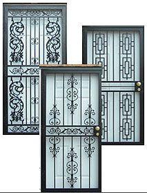 Decorative Storm Doors  Protecciones de puertas, Verjas, Puertas