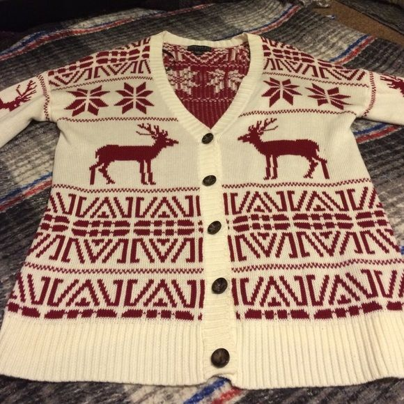 Fair isle print forever 21 cardigan plus size This is a long ...