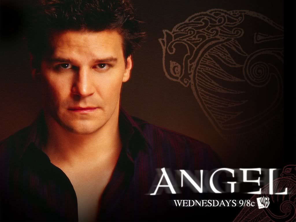 Before Edward Stefan Damon Eric Bill There Was Angel The First Hot Tv Vampire Yes He Was Esp When He Was Ev Tv Show Music Hot Vampires David Boreanaz