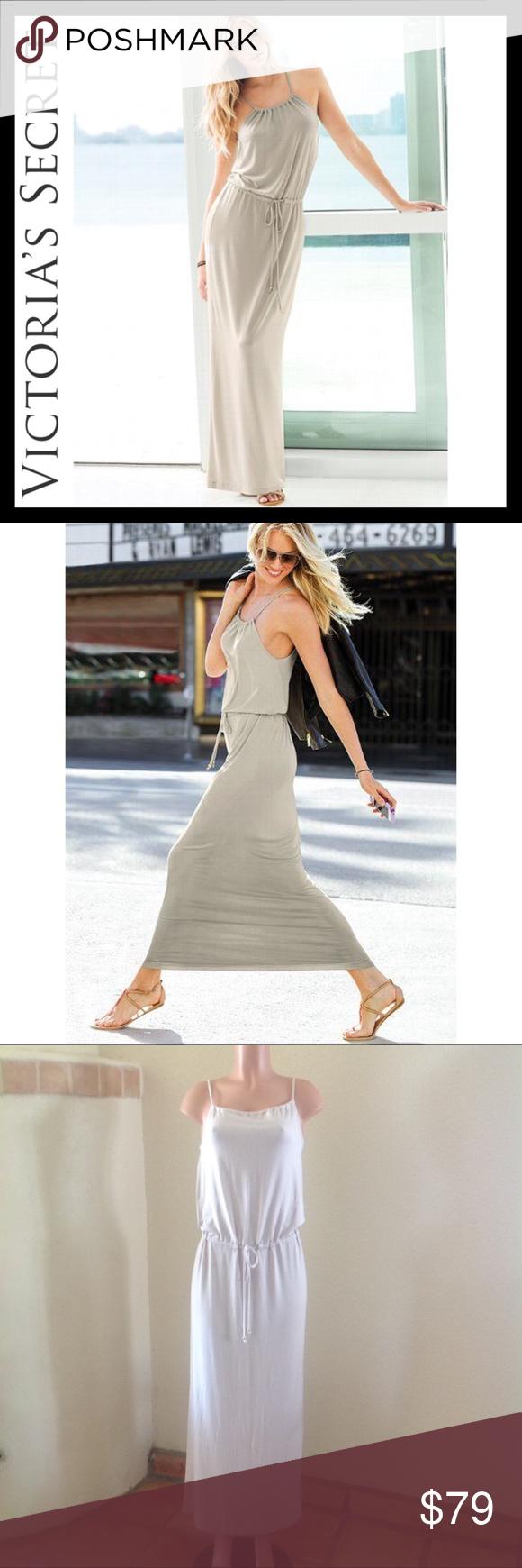 Victoria S Secret Supermodel Essentials Maxi Dress Dresses Clothes Design Victoria Dress [ 1740 x 580 Pixel ]