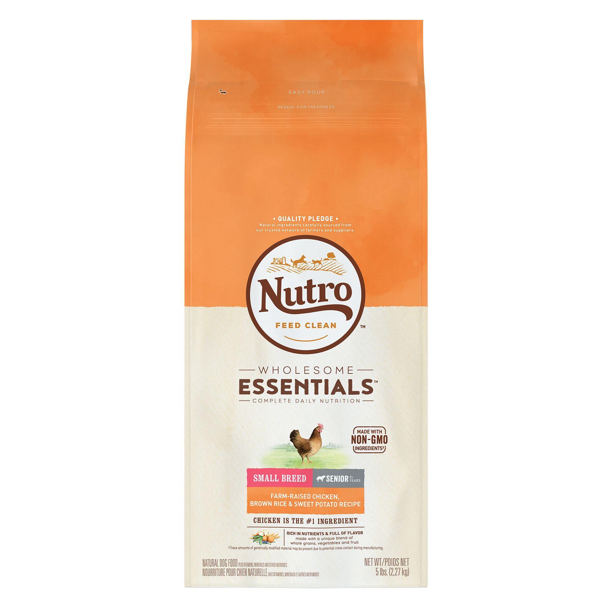 Nutro Wholesome Essentials Small Breed Senior Dog Food Chicken