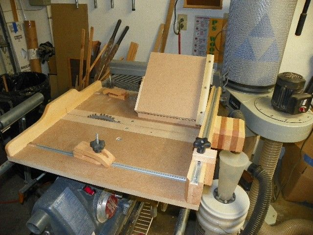 Adjustable Jig For A Crosscut Sled Shopsmith In 2019