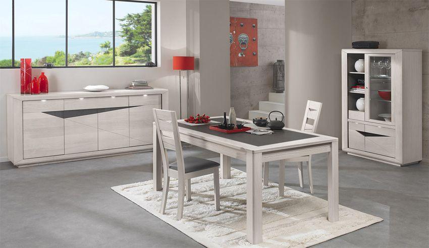 Table Rectangulaire Ceramique Girardeau Ref 490951 309 Dimensions L 180 X H 77 X P 100 Cm Tei Salle A Manger Bois Salle A Manger Meubles En Bois Modernes