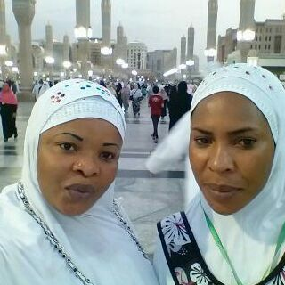 Photos: Checkout Faithia Balogun & Dayo Amusa In Mecca For Hajj