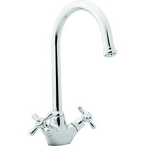 Wickes Angara Mono Mixer Kitchen Sink Tap Chrome | Stuff I Love ...