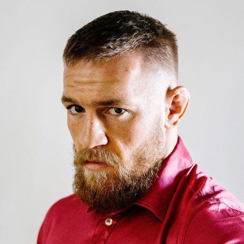 conor mcgregor haircut fade
