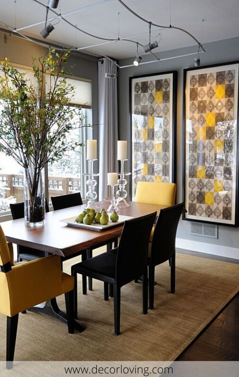 Inspirational Dining Room Wall Decor Ideas To Enhance The Look Of Your Dining Room Dining Room Small Apartment Dining Room Dining Room Decor Modern