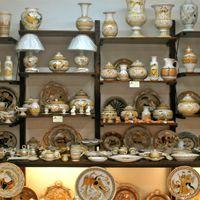 Ceramiche Fusari Collezione Arancio, Orvieto Umbria
