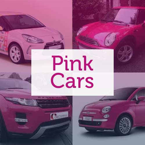 Buying a pink car used to be a massive no-no, but as more and more girls (and perhaps some boys too!) choose to express their love for the colour through their car, we're seeing more and more on the roads! #Pink #Cars