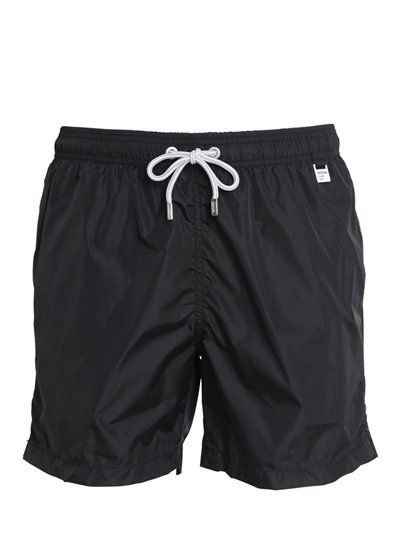 MC2 SAINT BARTH SUPREME PANTONE MICROFIBER SWIMSHORTS, BLACK. #mc2saintbarth #cloth #swimwear