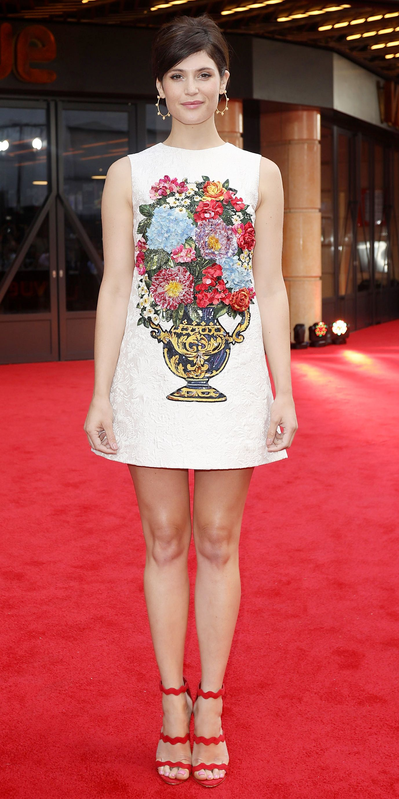 Look of the Day - Gemma Arterton from InStyle.com