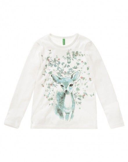 Camiseta con estampado - WINTER WOODS - NIÑO