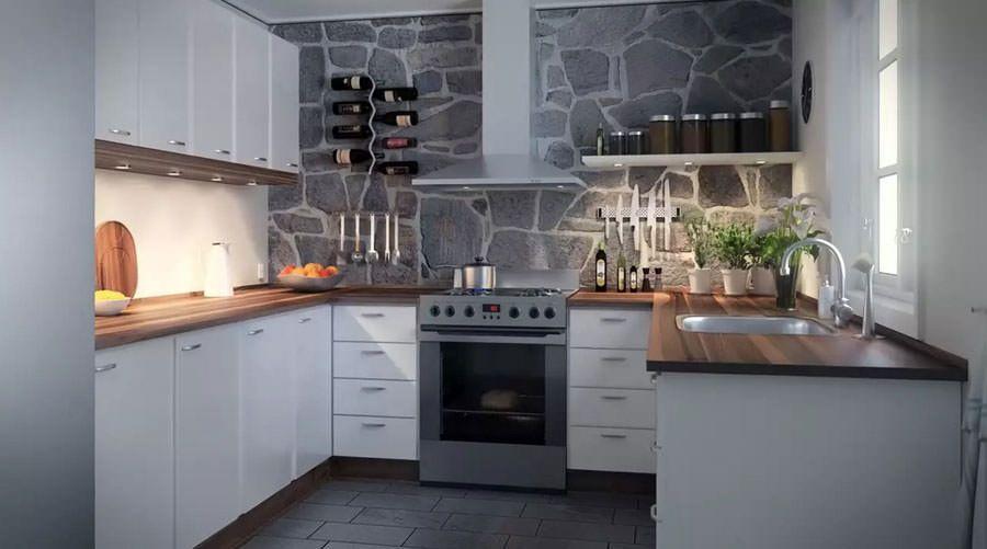 30 Modelli di Cucine Bianche dal Design Scandinavo | MondoDesign.it ...