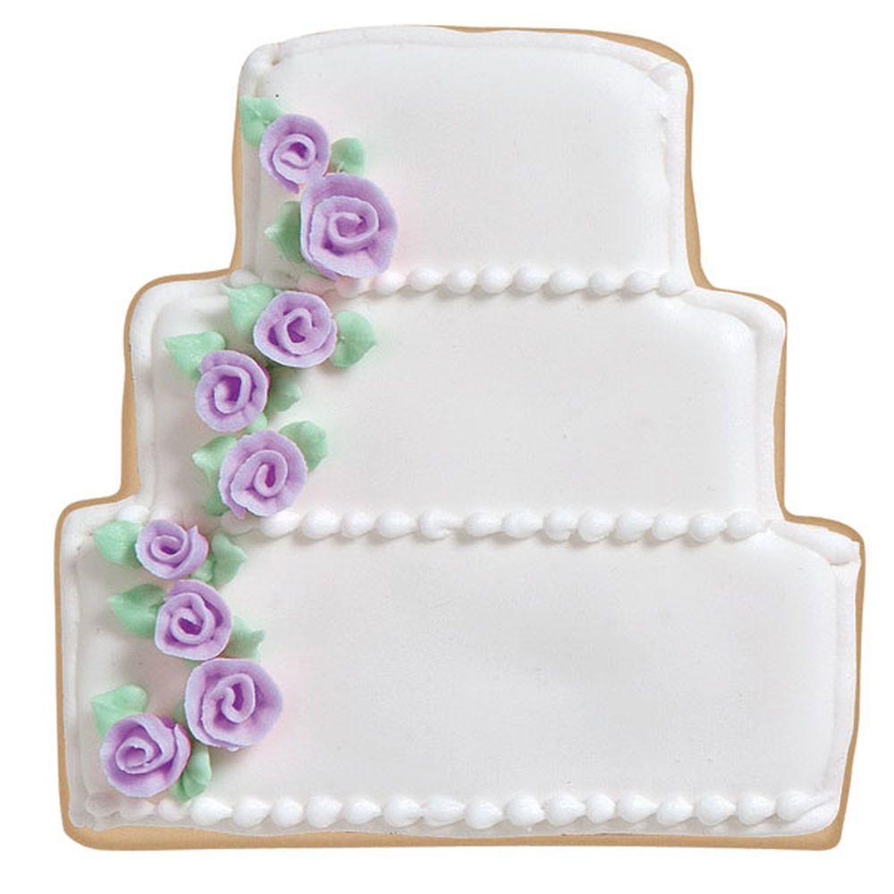 Delightful Wedding Cake Cookies