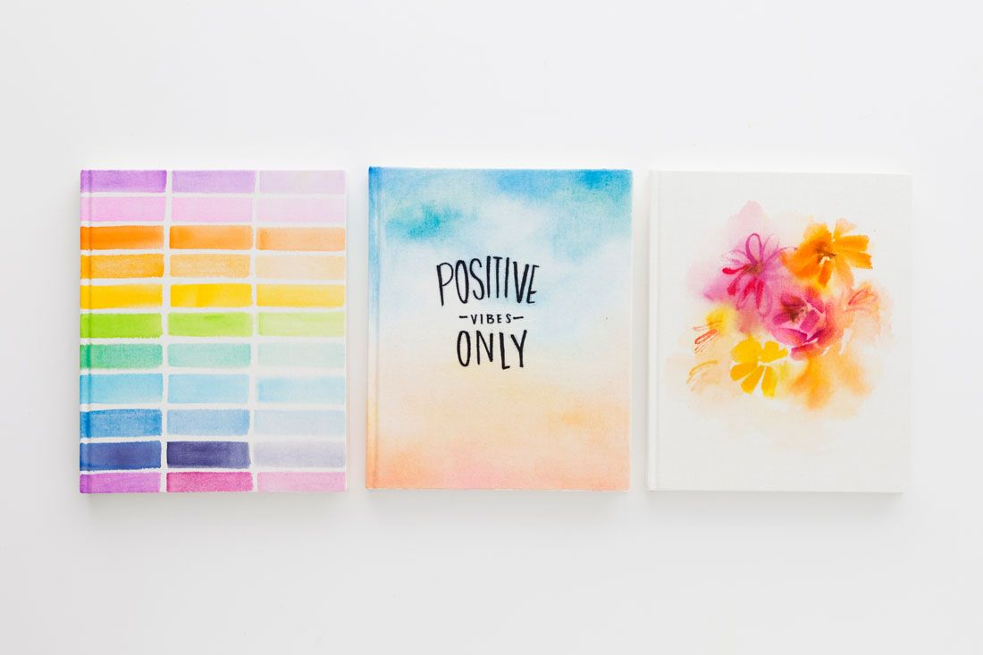 Get Inspired With This Diy Watercolor Sketchbook Watercolor