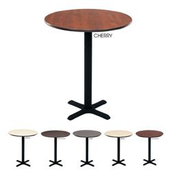 Regency Bar High Lunchroom 30-inch Round Table  sc 1 st  Pinterest : high round table and stools - islam-shia.org
