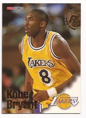 #8 Kobe Bryant   1996 Rc Hopps Lakers Angeles Nba