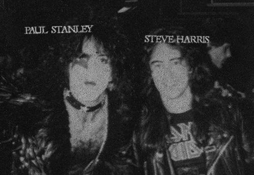 Paul Stanley, Steve Harris