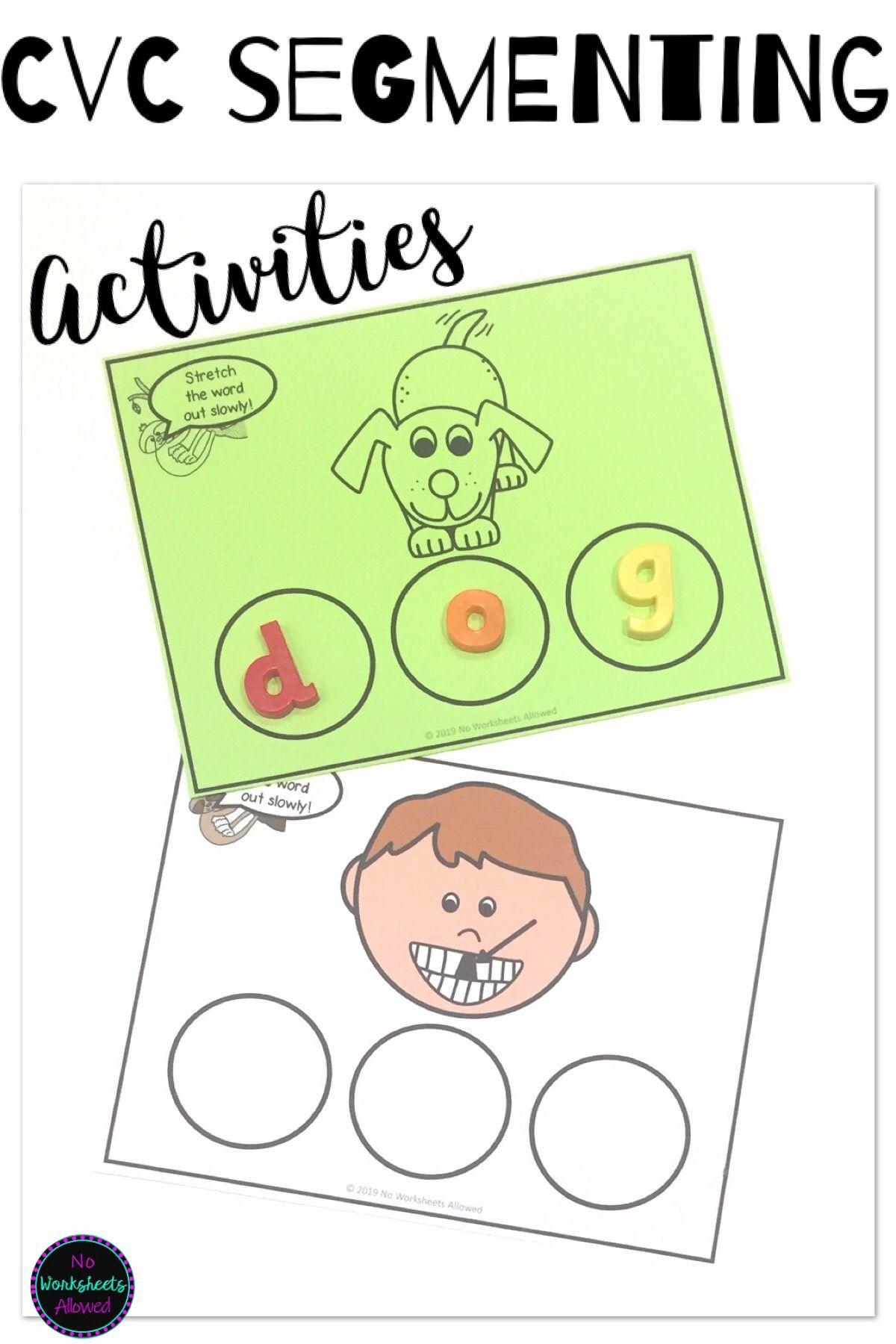 Cvc Word Spelling Activities