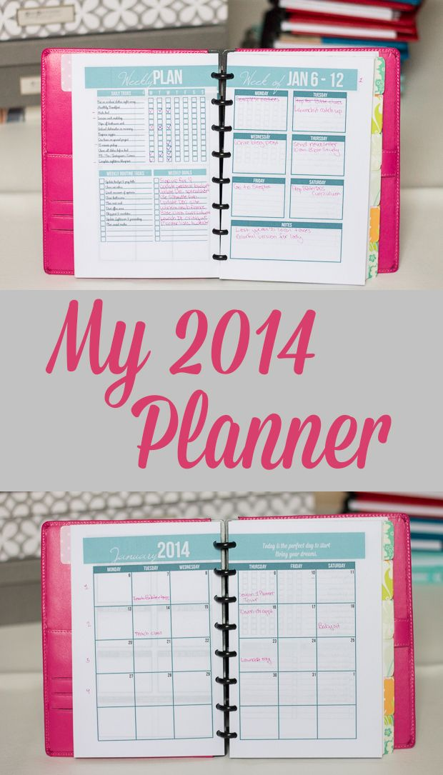 create your own planner my 2014 planner organizing ideas create your own planner planner. Black Bedroom Furniture Sets. Home Design Ideas