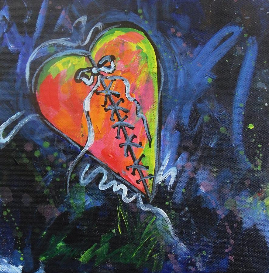 Bright Mended Broken Heart By Carol Suzanne Niebuhr Broken Heart